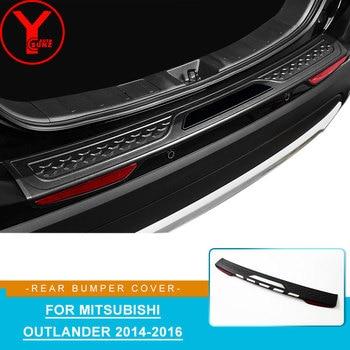 ABS سيارة الخلفية واقي مصد السيارة ل mitsubishi أوتلاندر اكسسوارات 2016 2017 2018 التصميم ل mitsubishi أوتلاندر 2019 YCSUNZ