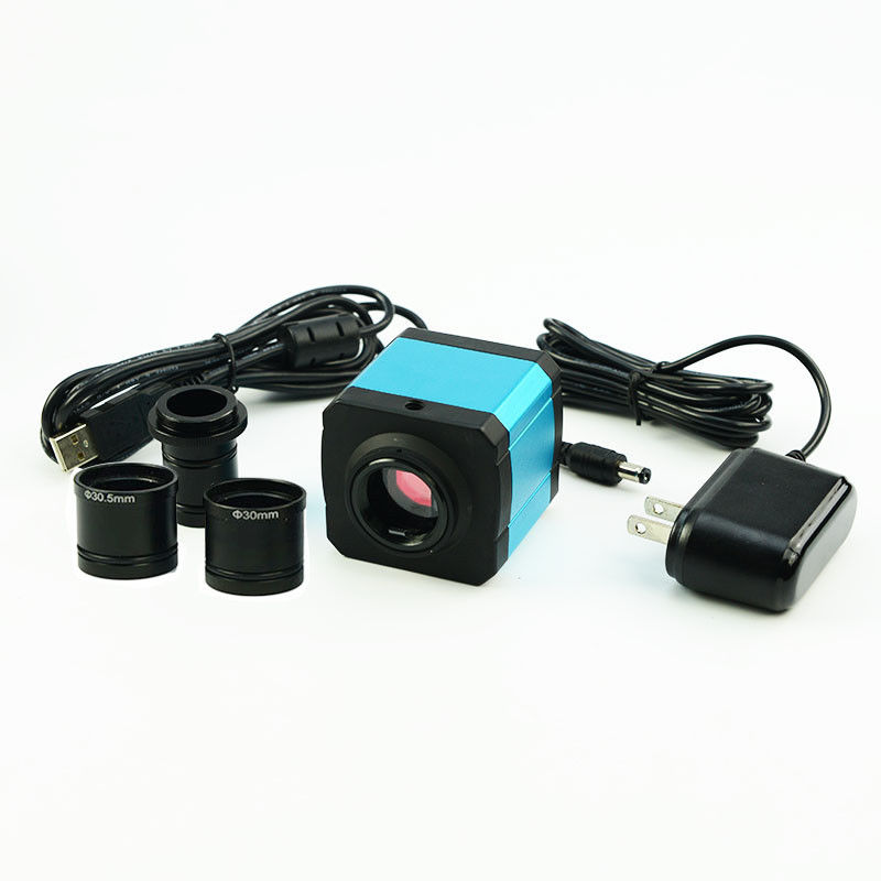 14MP Cmos C Mount HDMI Microscope Camera Electronic Digital Eyepiece Measurement Software USB 2.0
