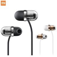 Original Xiaomi Capsule Earphone Headset with Mic Silicone Earbuds Mi In Ear earphones for XiaoMi huawei samsung mobile phone