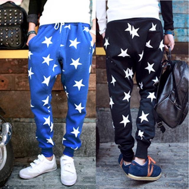 Marca Tide chaquetas hombre pantalones modelos de explosión europeos y americanos estrella de moda harem pantalones pies pantalones para hombre de hip hop
