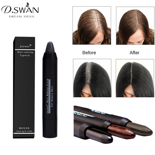 Hair Color Crayon Cover Gray Root Hair Instantly Hair Colour Dye ...