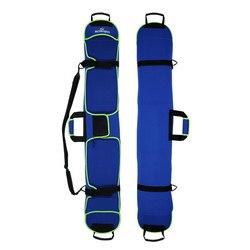 135-155 см Лыжная сумка для сноуборда материал для дайвинга Лыжная доска Чехол для сноуборда устойчивый к царапинам монопод пластина защитный ...