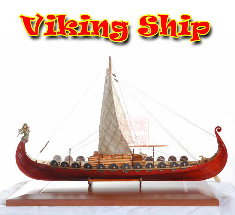 Us 730 New Scale 150 Viking Pirate Model Ship Laser Cut Wood Sailboat Children Education Toys In Model Building Kits From Toys Hobbies On
