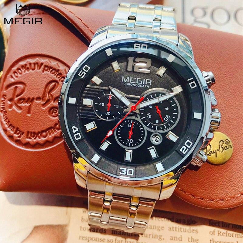 f6d7e92d42c8 PAGANI diseño relojes de los hombres de la marca de lujo de cuarzo  multifunción hombres deporte