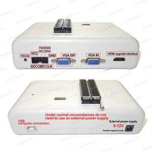 Image 4 - RT809H EMMC NAND فلاش USB مبرمج + 55 البنود BGA48 BGA64 BGA169 TSOP56 SOP44 DIP44 جميع المحولات مع EDID Cble + مص القلم