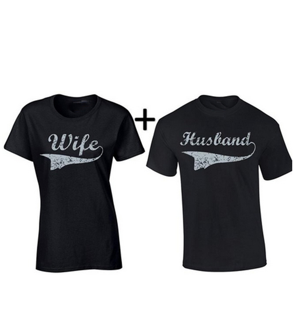 Mr And Mrs Lovers T Shirt Wife Husband Shirts Couple Shirts
