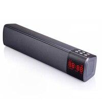 10W HIFI Portable Led Wireless Bluetooth Speaker Stereo HIFI Loudspeaker Soundbar TF FM Bluetooth Column for Pc TV Phone Speaker