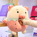 1 pc 30 cm/40 cm/50 cm Bichos de pelúcia Brinquedos de Pelúcia de Porco Brinquedo Porco Porco Bicho de pelúcia peluche macio Porco Cor de Rosa Boneca de presente de aniversário presentes