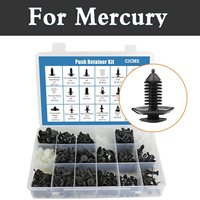 415pcs Car Retainer Clips&Plastic Fasteners Kit 18 Most Popular Sizes Rivets Set For Mercury Grand Marquis Mariner Milan Montego