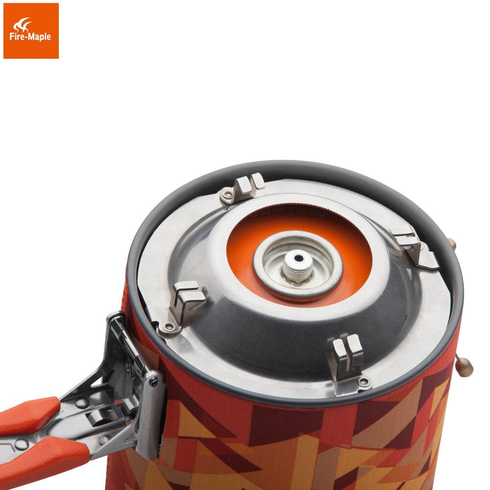 Fuego Arce Estrella Fija 2 Personal Sistema de Cocción Al Aire Libre Equipo de Camping Senderismo Horno Estufa Portátil de Gas Propano Quemador FMS-X2 - 6
