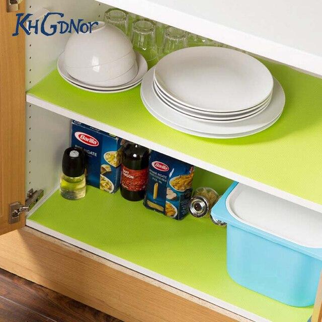 Neu Kommen Candy Farbe Küchenschrank Matten anti rutschte Milder ...