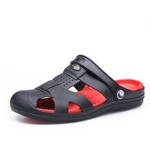 남자 리프 샌들 2020 슬리퍼 새로운 성인 캐주얼 나 막 신 플랫 신발에 바 Sandalias 여름 해변 젤리 신발 슬리퍼 Cholas Hombre