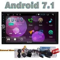 2 DIN Android 7 1 Autoradio Eincar HD 1080P Touchscreen Quad Core 2GB RAM Navigation GPS