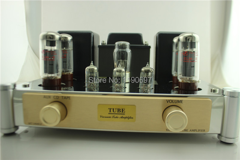 EL34 Tube Amp Push-Pull Class A amplifier Finished Product 5Z4 Rectifier Tube 6N1J Tube Hifi Stereo Audio цена