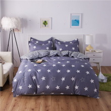 Comfortable New 3/4 Piece Bedding  Simple Fashion Aloe Cotton Family Set Queen Bed Small Double Student Dormitory