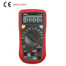 UNI T UT136B Multimetro Digitale 3999 Conta DMM AC DC Voltmetro Amperometro Ohmmeter Condensatore Diodo tester della stretta di Dati Auto-potere off