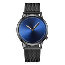 YOLAKO Fashion Mens Watches Top Brand Luxury Quartz Watch Men Casual Slim Mesh Steel Sport Watch Relogio Masculino relogio saat curren 8229 luxury brand genuine sport analog display date men s quartz watch casual watch men watches relogio masculino saat
