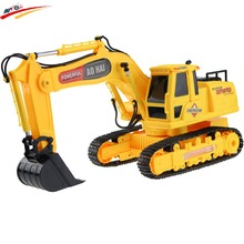 RC Excavator 8 CH RC digger,r/c excavator,Dig Function with light remote control shovelloader Model electronic toy