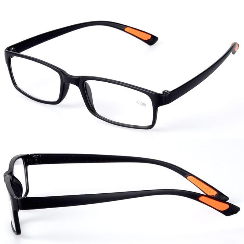 Hot Chic Resin Gerahmte Brillen Grid mit Gürtel Clip Klar männer ...