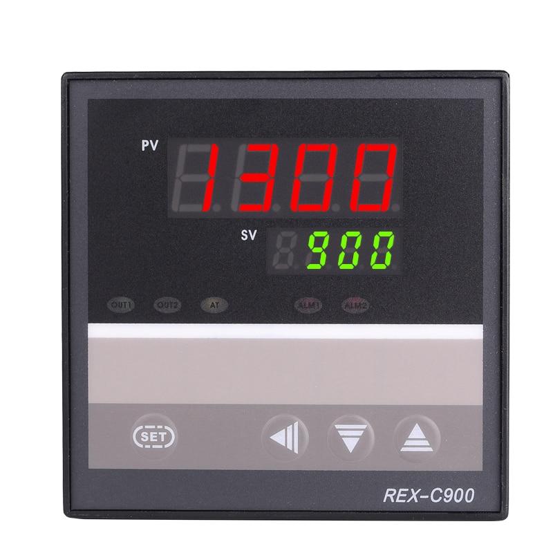 Tasuta kohaletoimetamine RKC PID temperatuuri kontroller REX-C900 universaalse sisendi relee väljund 96 * 96mm