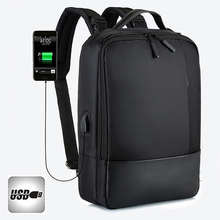 USB Backpack Men Male Multifunctional Bag Laptop Bagpack 16.5 Notebook Rucksack Shoulder Bags Black Travel Backpacks brand designer male genuine leather laptop back pack rucksack top quality travel backpack men notebook computer bag black