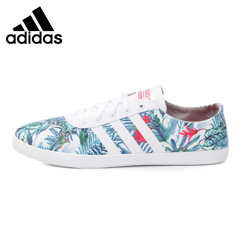 Original New Arrival Adidas NEO Label CF QT VULC W Women's Skateboarding Shoes Sneakers цены онлайн