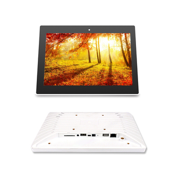 Commercial-grade 10.1 inch White/Black led android touch display all in one pc for Intelligent Room Systems