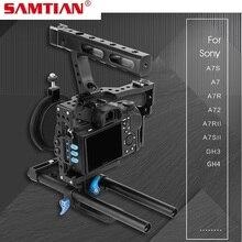 SAMTIAN Micro Single Photographic Camera Rabbit Cage Rod Video Cage Kit For