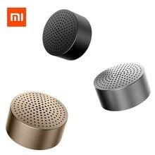 Xiaomi Mi Bluetooth Speaker Portable Wireless Mini Round Box Lourpeaker Metal Steel Stereo HIFI Three Colors New Original