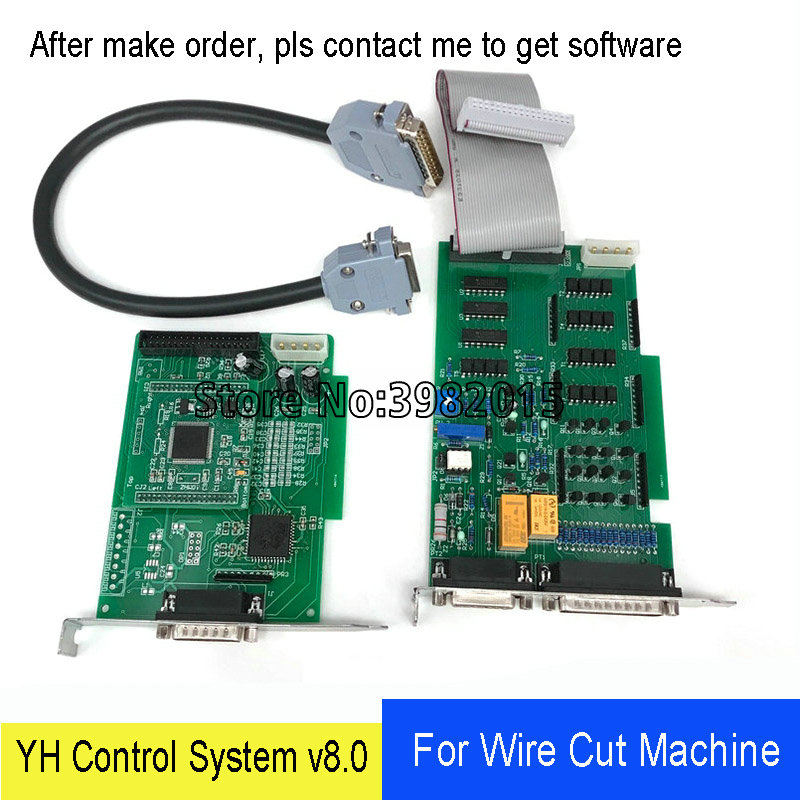 WEDM Original YH Card V8.0 Wire Cutting Control System Board Based on Windows 98 for CNC EDM Wire Cutting Machine image