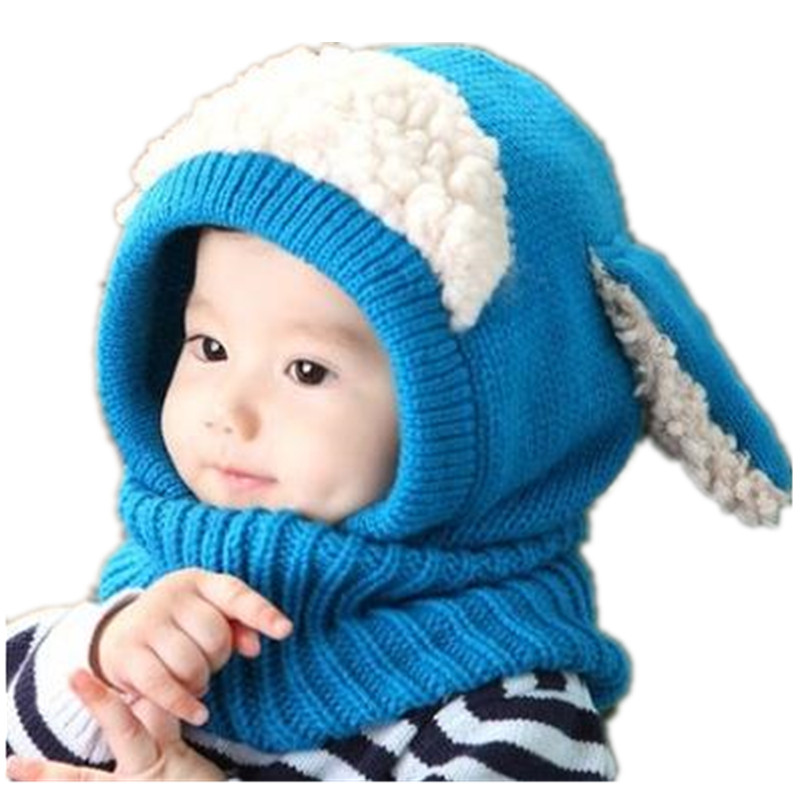 High Quality and Favorable price Baby Toddler Warm Hat Winter Beanie Hooded  Scarf Earflap Knitted Cute Cap B0273 12566630c91
