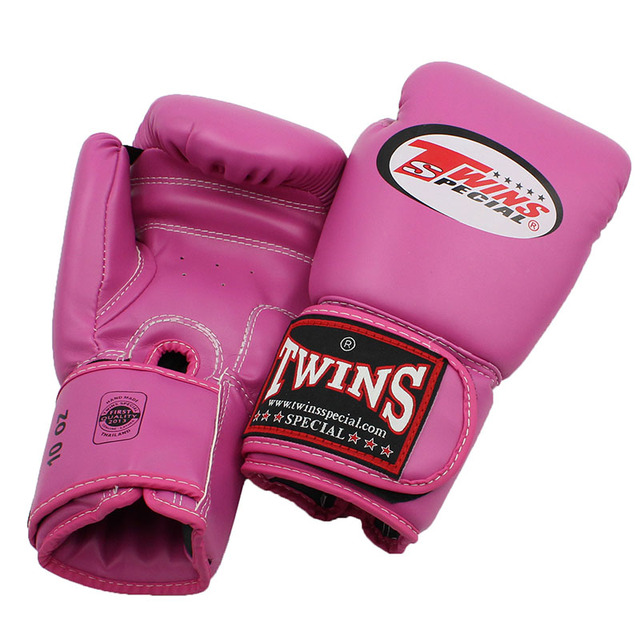 8oz-14oz Red Twins boxing gloves / Muay Thai boxing gloves