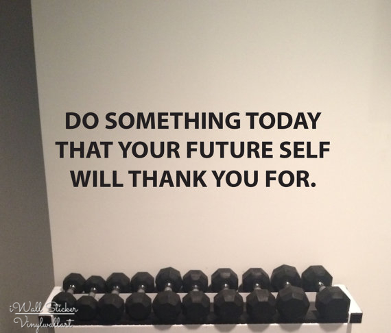 Do Something Today Quotes Wall Sticker Inspirational Quote Wall Decals DIY Motivational Wall Lettering Quotes Cut Vinyl Q232