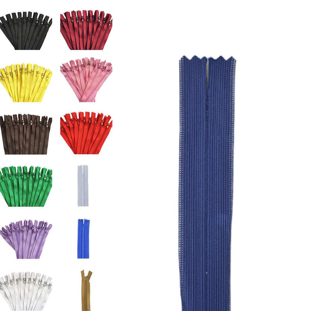 10 adet Yüksek Kaliteli Naylon Bant Zip Bobin Fermuarlar Terzi Kanalizasyon Zanaat 12 Inç 30 cm Crafter DIY Aksesuarları dikiş Giyim için
