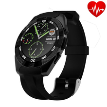 New Heart Rate Monitor Smartwatch NO.1 G5 Bluetooth Smart Watch Pedometer Remote Camera for Android iOS Smart Electronics pk f69