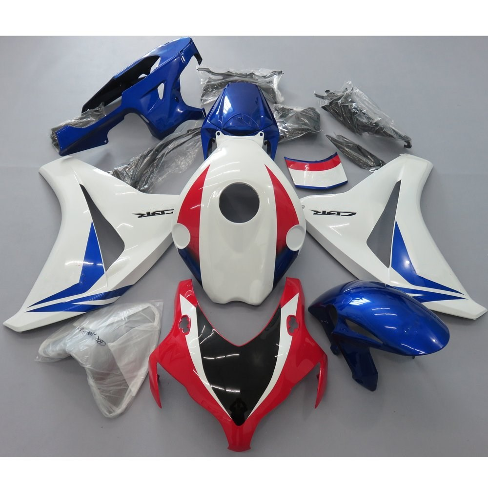 Motorcycle HRC Racing Fairing For Honda CBR 1000 RR CBR1000RR 2008 2009 CBR 1000RR 08 09 Fairings Kit Bodywork Injection Mold injection mold fairing for honda cbr1000rr cbr 1000 rr 2006 2007 cbr 1000rr 06 07 motorcycle fairings kit bodywork black paint