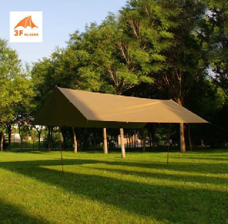 3F UL Gear UV 210T 5-8 person sun shelter sand beach coast pergola awning shade canopy party picnic tarp outdoor camping tent