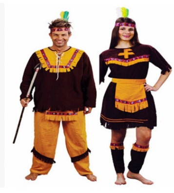 Indian Women Pocahontas Adult Fancy Dress Halloween Cosplay Costume Aboriginals Cosplay Costume