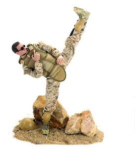 Image 2 - PATTIZ 1/6 12 SWAT Action Figure Model toys Military Army Combat Game Toys boys birthday  Free shipping