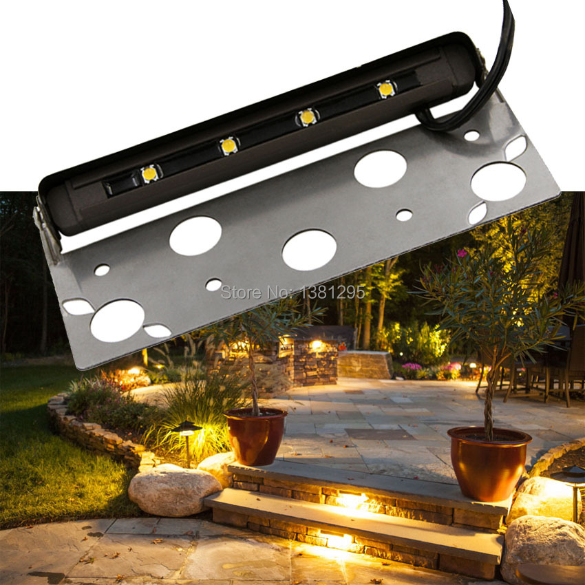 Image 5 - Low voltage 12V led hardscape deck step outdoor garden path paver patio accent landscape lighting retaining wall lights Bronze-in Outdoor Landscape Lighting from Lights & Lighting