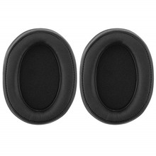 Ear Cotton Pad Parts Earpads For Sony MDR-100ABN WI-H900N Headset Sponge Set Earmuff Headphone  EW#