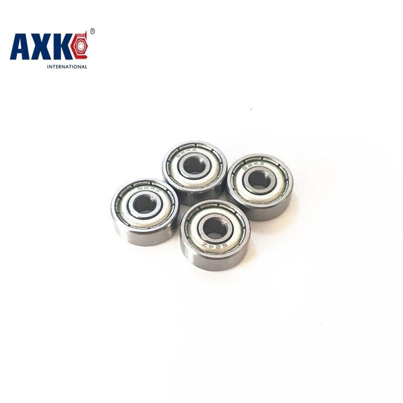 693ZZ Bearing ABEC-7 10PCS 3x8x4 mm Miniature 693 ZZ Ball Bearings 619/3ZZ  EMQ Z3 V3 Mini 693Z 3*8*4 Bearing 607zz abec 5 10pcs 7x19x6mm miniature ball bearings 607z emq z3v3