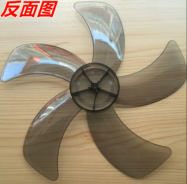 16 inches transparent  fan blade 8mm central hole 5 knief shape16 inches transparent  fan blade 8mm central hole 5 knief shape