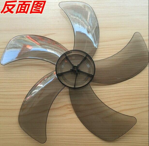 16 pollici trasparente pala del ventilatore 8mm foro centrale 5 knief forma16 pollici trasparente pala del ventilatore 8mm foro centrale 5 knief forma