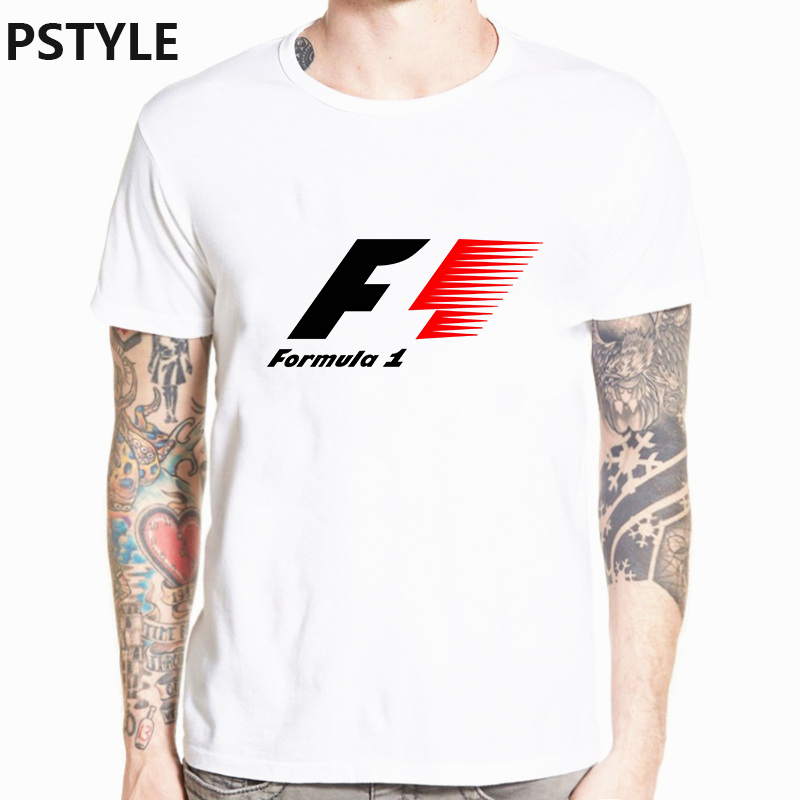 Summer Tshirt For Men Max Verstappen Tee Homme Formula 1 Print Graphic Funny T Shirts Short Sleeve White F1 AYRTON For Fans Tops