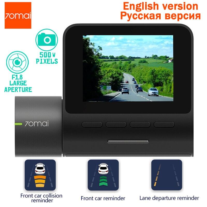 70mai Dash Cam Pro smart Voiture 1944 P HD Vidéo IMX335 140 Degrés FOV Fonction Avancée Système d'aide au Conducteur app Controll