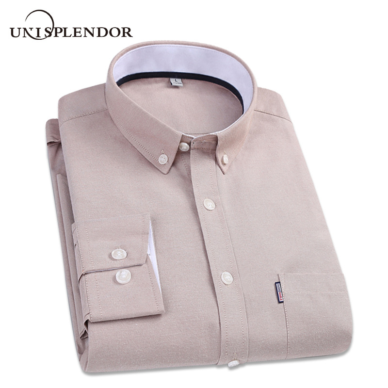 2019 Spring Autumn Solid Man Dress Shirts Men Business Party Shirt Boy's Gifts Male Long Sleeve Casual Shirt Fit Slim YN10240