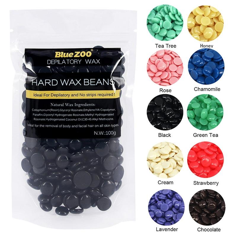 Beans, Lavender, Hard, Hair, Strip, Pellet