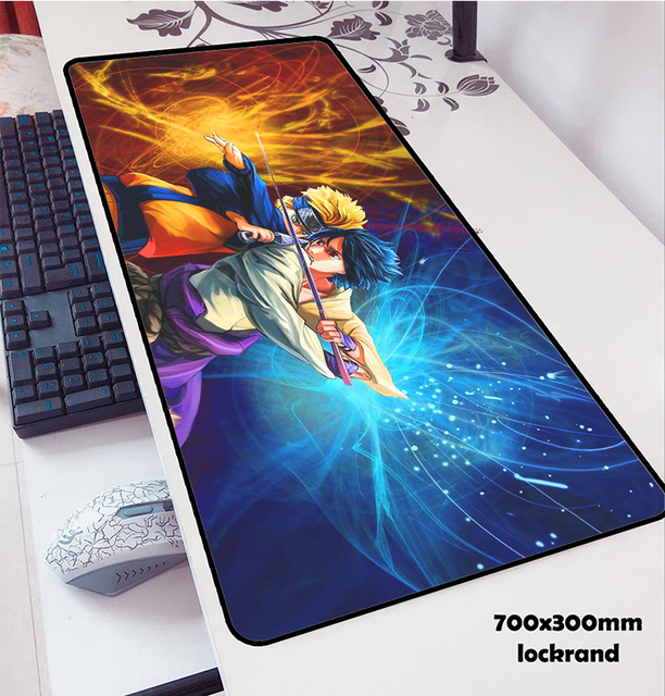 Naruto mouse pads 70x30cm pad to mouse notebook computer pad mouse Professional gaming mouse pad 3