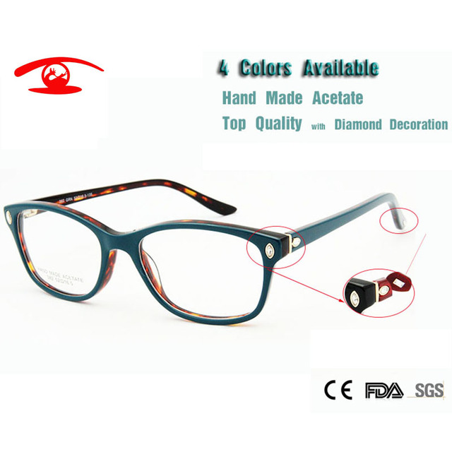 71e197fa66 Wholesale (5pcs lot)New Luxury Eyeglasses Frame Women Eyeglass Eyewear  Computer Prescription Glasses